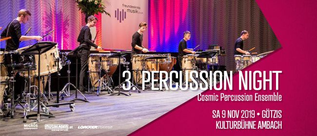3. Percussion Night // »Cosmic Percussion Ensemble«
