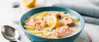 Pannonische Fischsuppe in Die Küche Wien