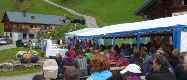 Älpler- & Dankmesse auf der Alpe Stafel Faschina: VERSCHOBEN