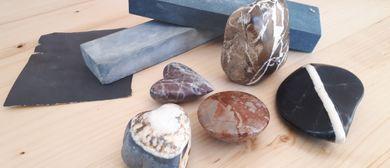 Workshop im Ach-Steine schleifen