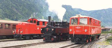 Wälderbähnle Fest mit Jubiläum, Dampf- & Dieselzüge