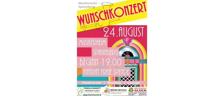 Wunschkonzert Musikverein Spannberg