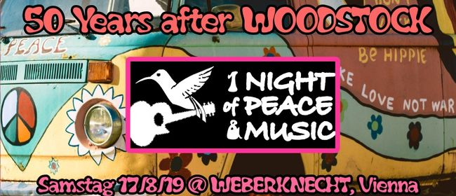 50 Years after Woodstock: 1 Night of Peace & Music