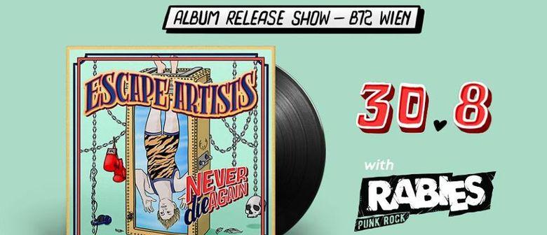 """Escape Artists """"Never Die Again"""" Punkrock Release Party"""