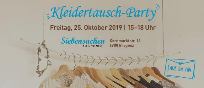 Große Kleidertausch-Party in Bregenz