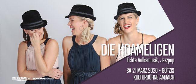 Die Hoameligen // Echte Volksmusik, Jazzpop // Götzis: ABGESAGT