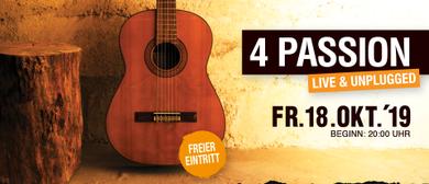 4Passion For Passion live in der Werkstatt Rankweil