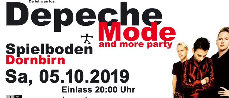36te Depeche Mode & more Party