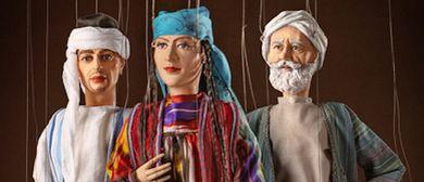Marionettentheater aus Uzbekistan mit Aladdin in Wien
