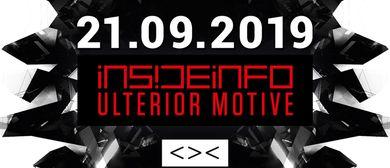 CONTRAST presents INSIDEINFO & ULTERIOR MOTIVE