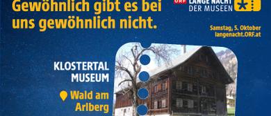 Lange Nacht d Museen: Kinderprogramm & Ausstellungseröffnung