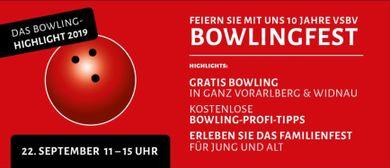 Feiern Sie mit uns! Einladung zum Bowlingfest!