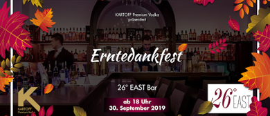 Erntedankfest @ 26° EAST Bar