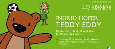 TEDDY EDDY mit Ingrid Hofer - für Kinder ab 3 Jahren