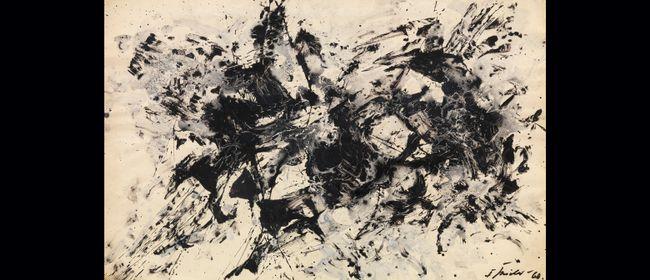 Aus der Sammlung | Informelle Malerei