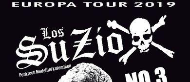 LOS SUZIOX (Medellin/Kolumbien) und NO 3 (Vorarlberg) LIVE!
