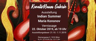 """Wieder in Wien!!! Maria Kononov und ihr """"Indian Summer"""""""