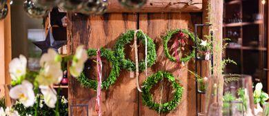 Weihnachtsausstellung im Sennhus Blumenladen