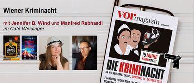 Wiener Kriminacht mit Jennifer B. Wind und Manfred Rebhandl