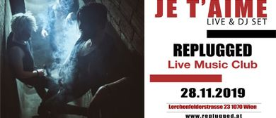 JE T'AIME live@Replugged
