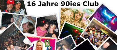 16 Jahre 90ies Club