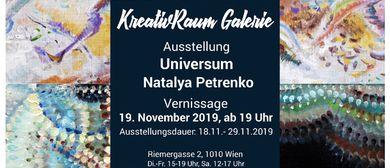 "Ausstellung ""Universum"" Natalia Petrenko-Litvinova"