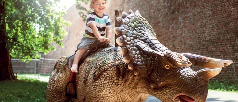 Dino-Erlebnisshow!