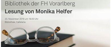 20 Jahr Bibliothek der FH Vorarlberg – Lesung Monika Helfer