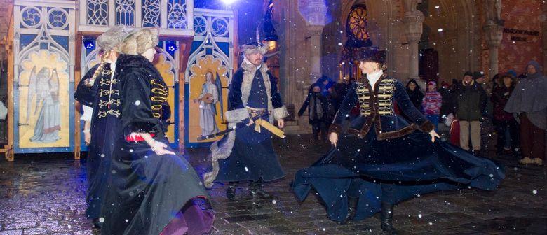Mittelalterlicher Adventmarkt im Arsenal
