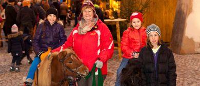 Bludenzer Christkindlemarkt: Ponyreiten, Kutschenfahrten