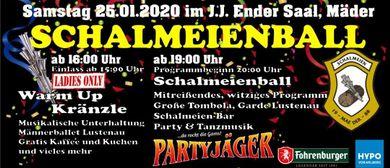 Schalmeienball mit Warm Up Kränzle Ladys Only