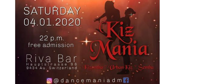 Dance Mania at Riva Bar Kizomba Edition