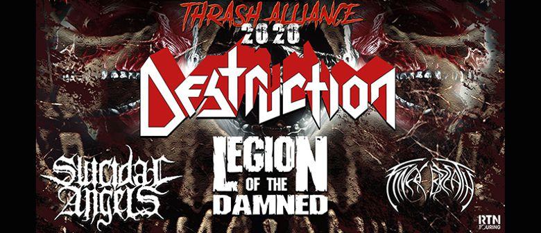 Thrash Alliance Tour mit Destruction