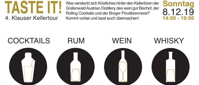 Taste it! 4. Klauser Kellertour