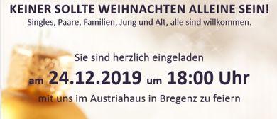 Gemeinsam statt Einsam - Weihnachten nicht alleine sein!