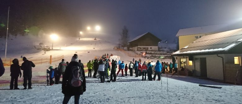 Abendskilauf am Schedlerhoflift in Brand