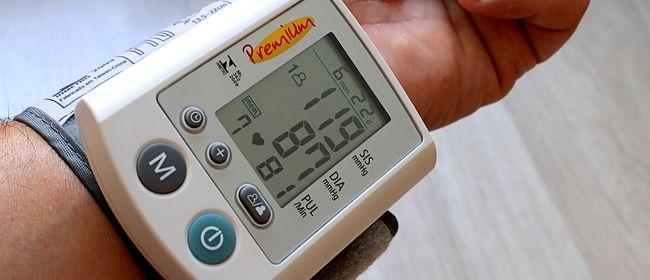 Blutdruck hoher/niedriger