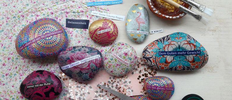 Workshop: Steine mit stärkenden Affirmationen: CANCELLED
