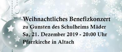 Weihnachtliches Benefizkonzert