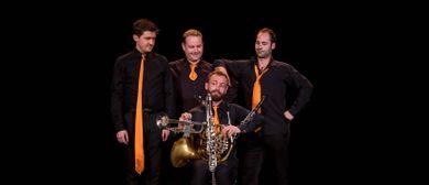 Les Sourds-Doués: 4 Krawatten für Mozart