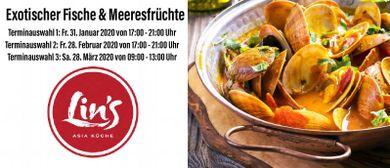 Lin's Kochkurs: Fische & Meeresfrüchte am Fr. 31. Januar 202