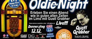 Spezieller Oldie-Night-Abend mit Gustl Grabher live im LIMO