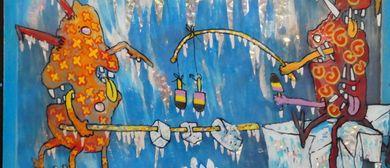 """""""Uhriges"""" präsentiert die Galerie Sandpeck Wien 8"""