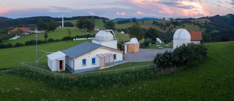 Öffentliche Sternwarteführung mit Himmelsbeobachtung: CANCELLED