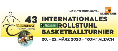 Das 43. Mohren-Rollstuhlbasketball-Turnier in Altach