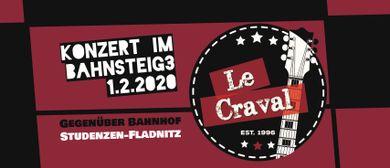 Le Craval / Los Cravalleros im Bahnsteig 3