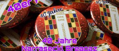 40 Jahre Narraseckl Party