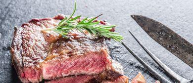 Exklusives 3 Gänge Dinner Menü mit 250g Rib Eye Steak