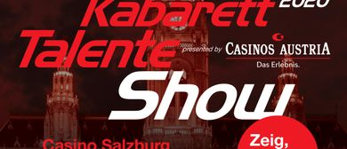 Kabarett Talente Show presented by Casinos Austria