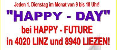 """""""HAPPY-DAY"""" bei """"HAPPY-FUTURE"""" in Linz und Liezen!"""